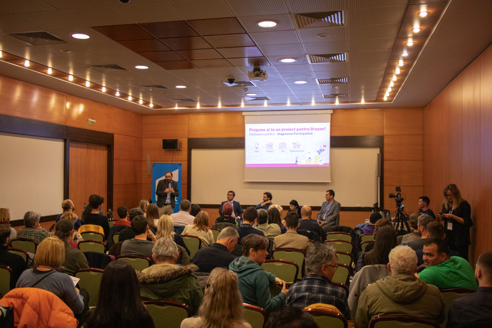 Dezbatare publica Bugetarea Participativa Brasov Tudor Benga